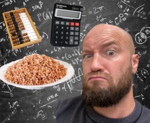 Про арифметику и подсчет БЖУ